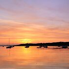 Sunset over Poole Harbour by Gary Heald LRPS