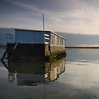 House boat. Poole Harbour by Gary Heald LRPS