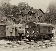 D8001 at Wirksworth by David J Knight