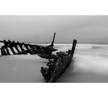 The Dicky Wreck at Caloundra -Queensland Australia Photographic Print