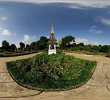 Welland Park Rose Garden 360° pano by DavidKennard