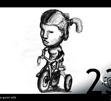 May 23rd - Taking a quiet ride by 365 Notepads -  School of Faces