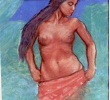 Tahitian Wahine by Gary  Crandall