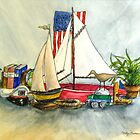 Nautical Fantasy by Betty Burnitt