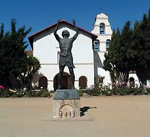 Mission San Juan Bautista - St. John the Baptist  by Cupertino