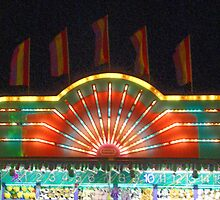 Night at the Carnival - Game Booth by Margie Avellino
