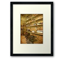The Old Commissary Framed Print