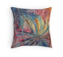 Lively step into tomorrow's dislocation Throw Pillow