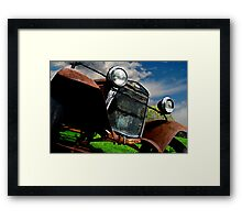 Old Fords never die, they just become picturesque 3 Framed Print