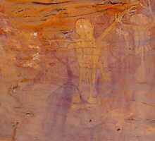 Cave Painting Split Rock Galley Far North Queensland by Tim Douglas