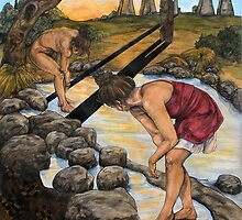 The Bathers by Debbie  Robinson