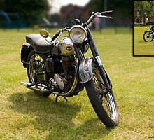 250cc BSA C10  by David J Knight