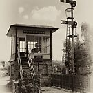 Crewe Station 'A' Signalbox by Aggpup