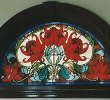 Waratah Window by Jeffrey Hamilton