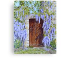 The Wisteria Gate Canvas Print