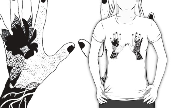 Nature Touch Tee by Mariska