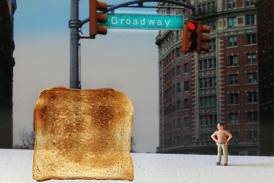 Kevin finally locates the Toast of Broadway; it wasnt exactly what he expected. by Susan Littlefield