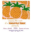 Pineapple Truck by reflekshins