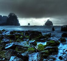 La Push in Electric Blue by Blake Rudis