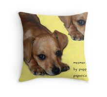 Pupnosis Throw Pillow