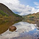 Loch Lubnaig reflections by Shaun Whiteman