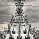 USS Alabama by RayDevlin