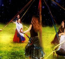 Maypole Moon by RC deWinter