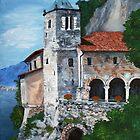 Santuario di Santa Caterina del Sasso by Victoria Mistretta