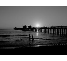 The Naples Florida Pier 2010 Photographic Print