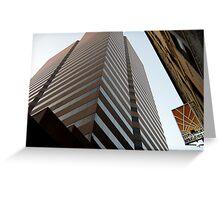 Cinci Bank Building Greeting Card