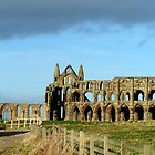 Whitby Abbey ruined yet still glorious by patjila