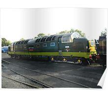 Deltic Diesel  D9009 Poster