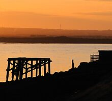 south gare sunset by pd1001