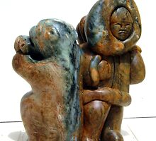 Soapstone Sculpture by Luci Feldman