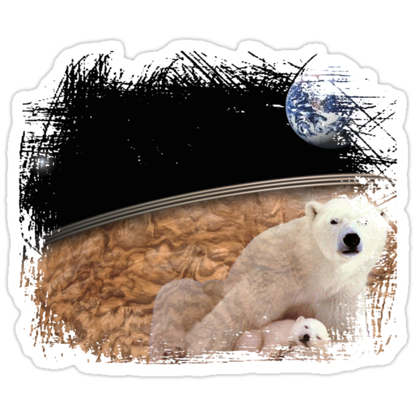 polar bears earth by arteology