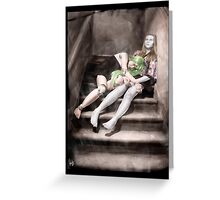 Gothic Photography Series 093 Greeting Card