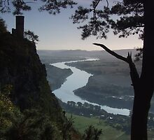 Kinnoull Hill in Perth, Scotland by Steve Hammond