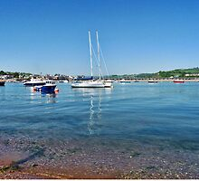 Coastal Colours At Teignmouth by lynn carter