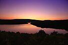 Sunset Lake Sacacomie by Yannik Hay