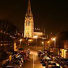 Cathedral at Night by Lisa Byrne
