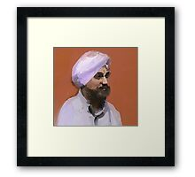 Turbaned Framed Print
