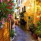 Chania Alley Light by sirthomas1960