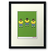 Foot-T 'rocking baby' Framed Print
