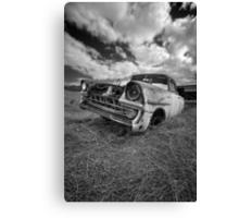 Car Graveyard - Morgan, SA Canvas Print