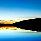 Canberra Sunset silouhette by Peter Dor