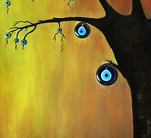 Evil  Eye Beat tree by tulay cakir