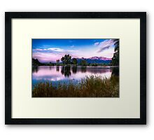 Last Rays of the Day Framed Print