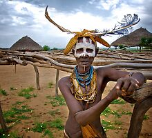 Hammer Woman, Omo Valley by Antony Kuzmicich
