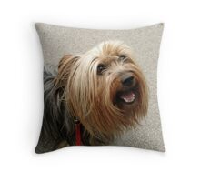 When you're smiling... Throw Pillow