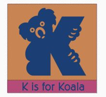 Koala Bear Animal Alphabet by Zehda